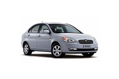 Hyundai Verna 2006-2010 Front Left Side Image