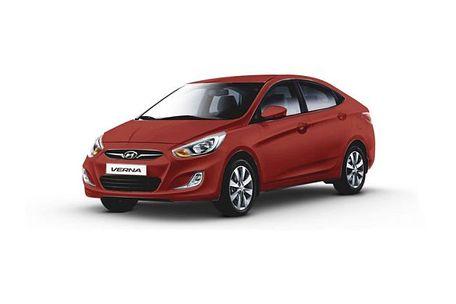 Hyundai Verna 2011-2015 Front Left Side Image