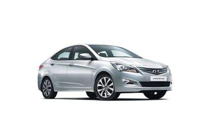 Hyundai Verna 2015-2016 Front Left Side Image