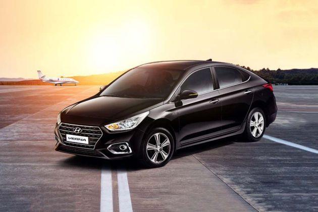 Hyundai Verna 2020 Front Left Side Image