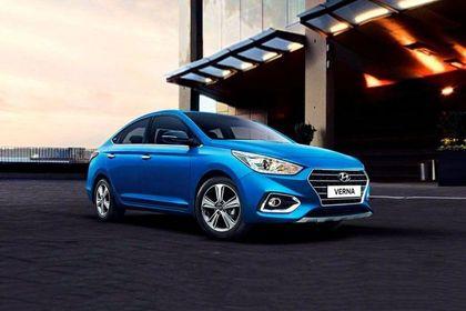 Hyundai Verna 2017-2020 Front Left Side Image