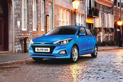Hyundai Elite i20 Front Left Side Image