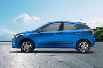 Hyundai Elite i20 Side View (Left)  Image