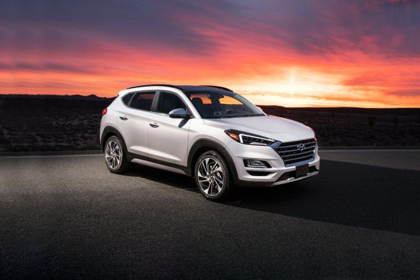 Hyundai Tucson 2020 Front Left Side Image
