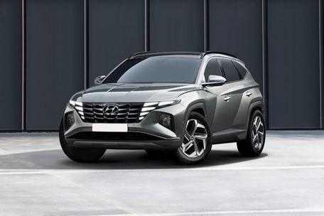 Hyundai Tucson 2022 Front Left Side Image