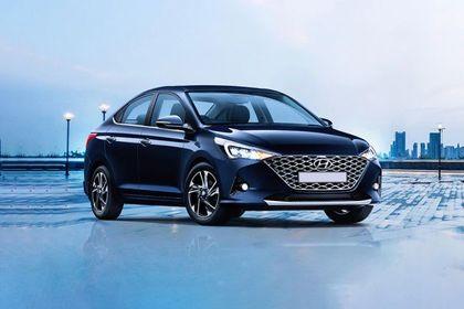 Hyundai Verna Front Left Side Image