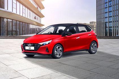 Hyundai i20 Front Left Side Image