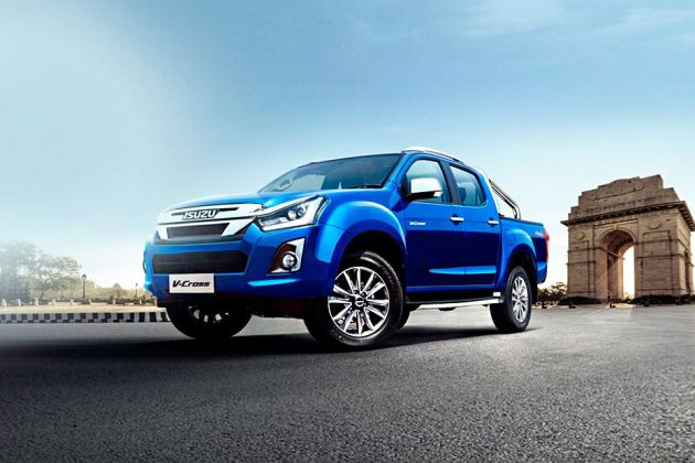 Isuzu D-Max V-Cross Front Left Side Image