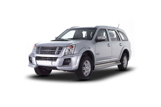 Isuzu MU 7 Front Left Side Image