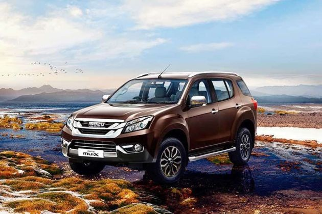 ISUZU MUX Front Left Side Image