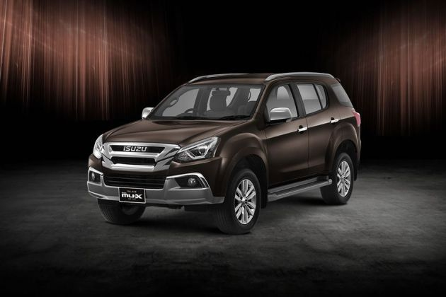 Isuzu MUX 2018 Front Left Side Image