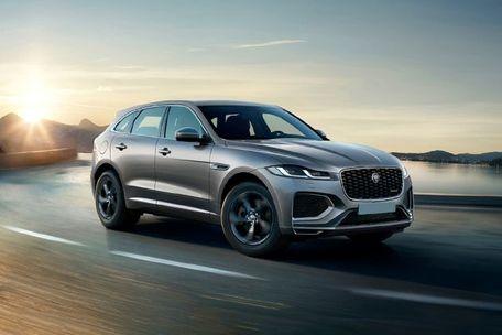 Jaguar F-Pace Front Left Side Image