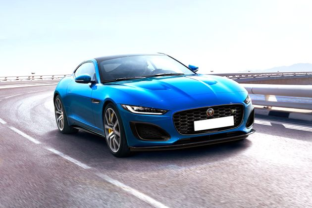 Jaguar F-TYPE Front Left Side Image