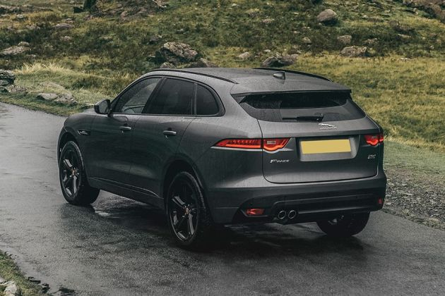 Jaguar F-PACE Rear Left View Image