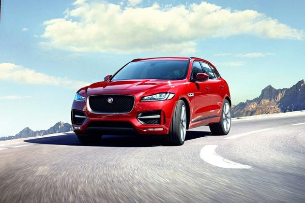 Jaguar F-PACE Front Left Side Image