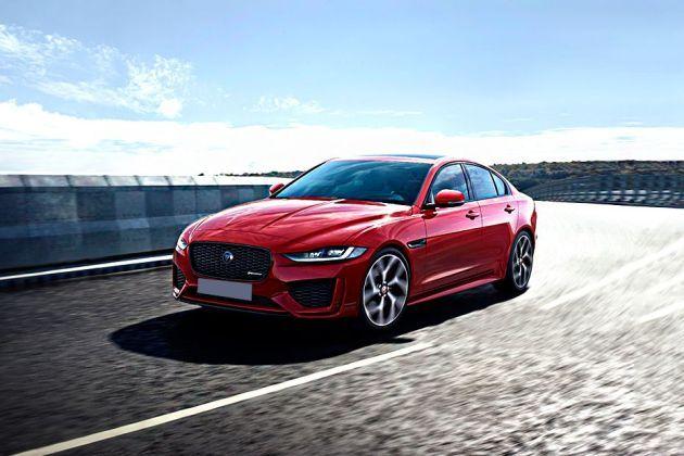 Jaguar XE 2019 Front Left Side Image
