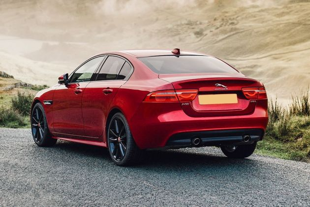 Jaguar XE Rear Left View Image