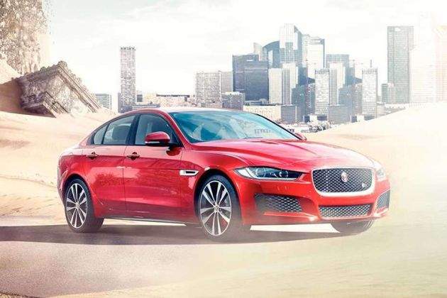 Jaguar XE Front Left Side Image