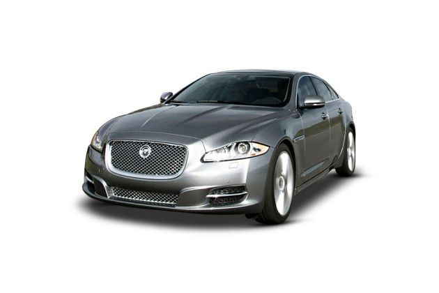 Jaguar XJ 2009-2013 Front Left Side Image