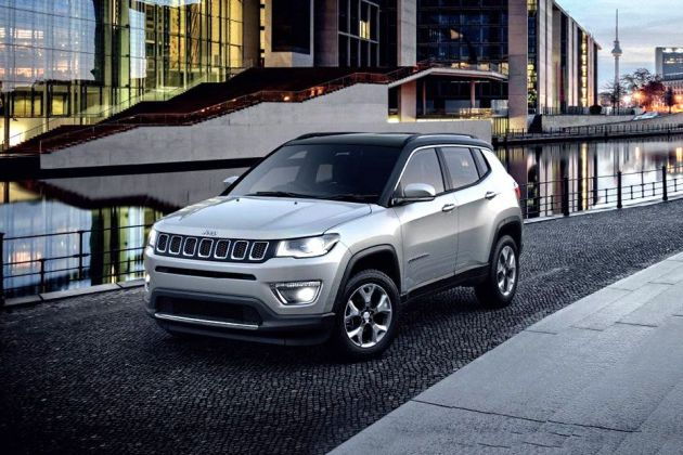 Jeep Compass Front Left Side Image
