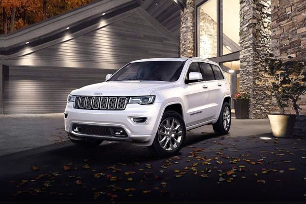 Jeep Grand Cherokee Front Left Side Image
