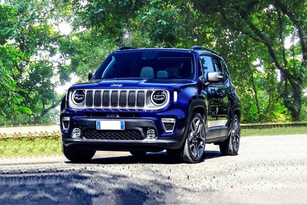 Jeep Renegade Front Left Side Image