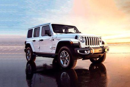 Jeep Wrangler 2019 Front Left Side Image