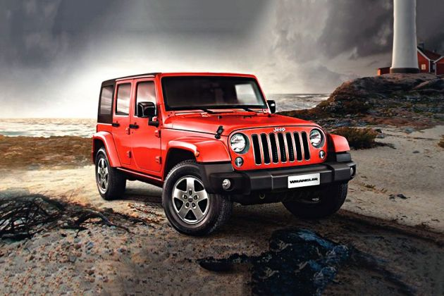 Jeep Wrangler Unlimited Front Left Side Image
