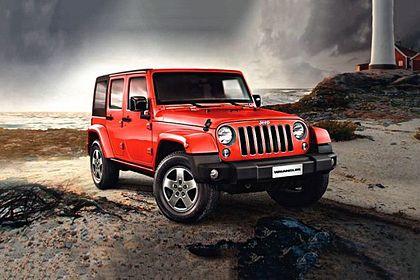 Jeep Wrangler 2016-2019 Front Left Side Image