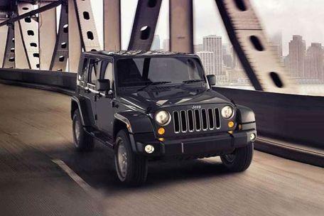 Jeep Wrangler Unlimited Front Left Side Image