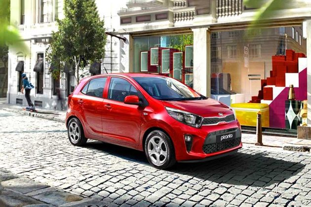 Kia Picanto Front Left Side Image