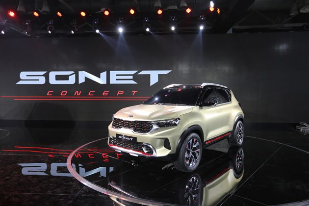 Kia Sonet Front Left Side Image
