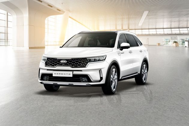 కియా sorento front left side image