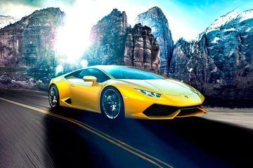 Lamborghini Huracan Front Left Side Image