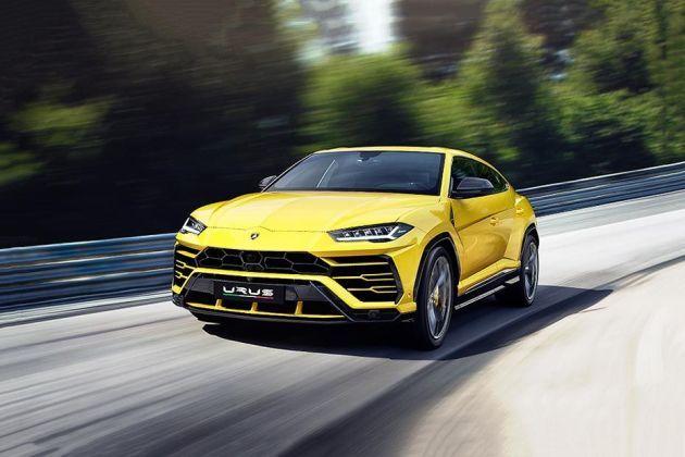 Lamborghini Urus Front Left Side Image