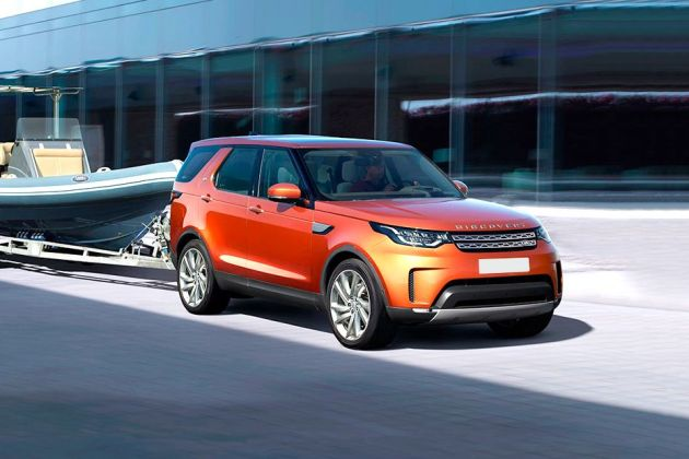 Land Rover Discovery Front Left Side Image