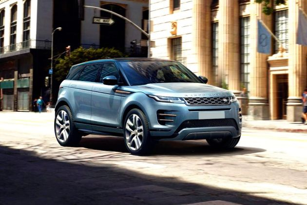 लैंड रोवर रेंज रोवर evoque 2020 front left side image