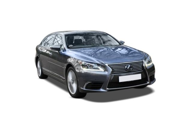 Lexus LS 600 Front Left Side Image