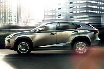 Lexus NX Side View (Left)  Image