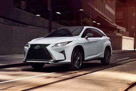 Lexus RX Front Left Side Image