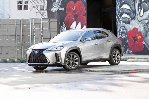 Lexus UX Front Left Side Image