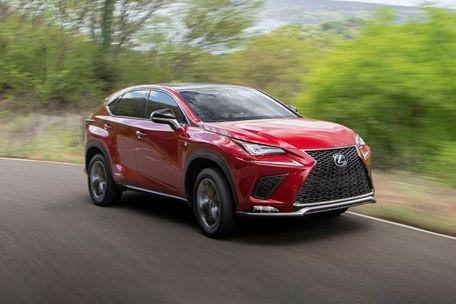 Lexus NX Front Left Side Image