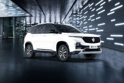 MG Hector 2019-2021 Front Left Side Image