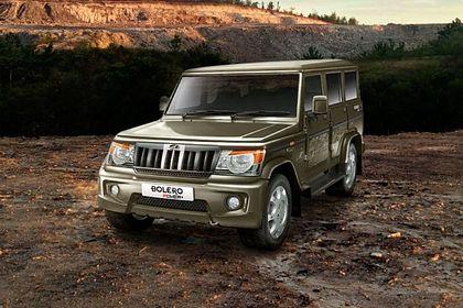 Mahindra Bolero Power Plus Front Left Side Image