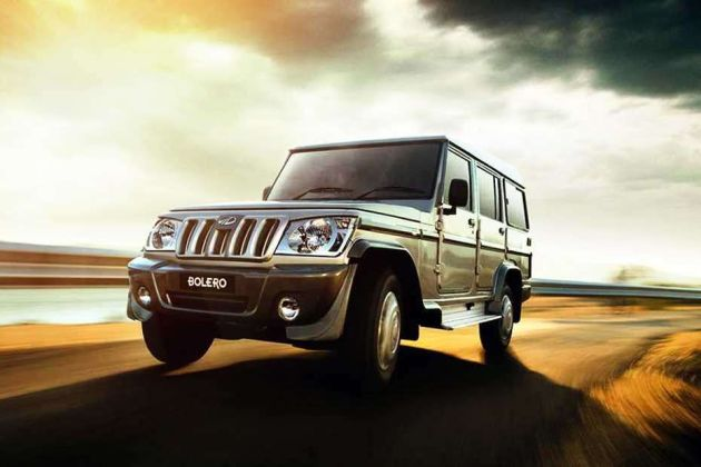 Mahindra Bolero Price, Images, Review & Specs