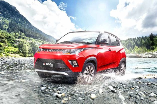 Mahindra KUV 100 Front Left Side Image