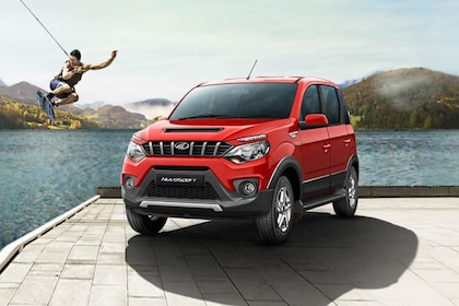 Mahindra NuvoSport Front Left Side Image