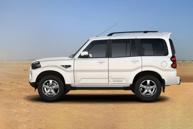 Mahindra Scorpio Side View (Left)  Image