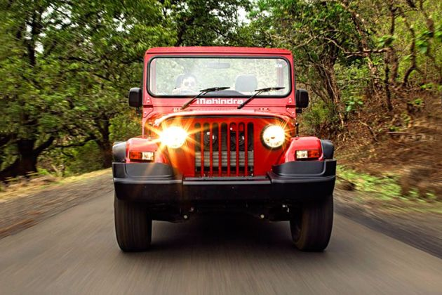 Mahindra Thar 2020 Front Left Side Image
