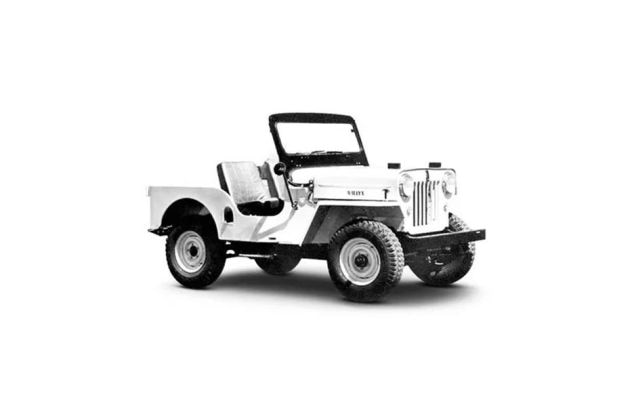 Mahindra Willys Front Left Side Image